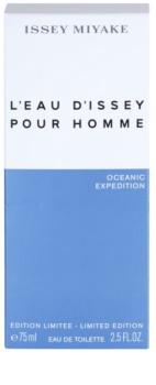 Issey Miyake L'Eau d'Issey Pour Homme Oceanic Expedition eau de toilette férfiaknak 75 ml