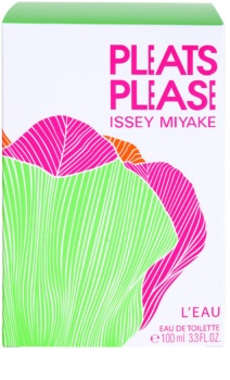 Issey Miyake Pleats Please L'eau eau de toilette per donna 100 ml