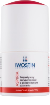 Iwostin Aspiria antibakterieller Antitranspirant-Deoroller ohne Alkohol