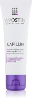 Iwostin Capillin krepilna krema za razpokane žilice SPF 20