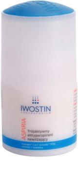 Iwostin Aspiria feuchtigkeitsspendender und beruhigender Antitranspirant-Deoroller
