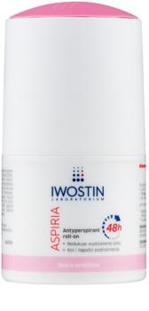 Iwostin Aspiria antitranspirante rool-on hidratante e calmante