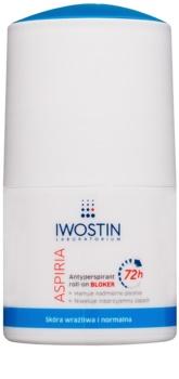 Iwostin Aspiria antiperspirant roll-on proti prekomernemu potenju 72 ur