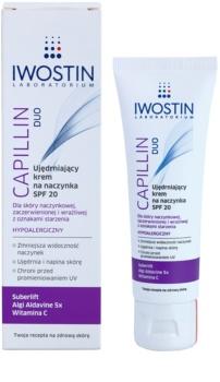 Iwostin Capillin Duo creme de fortalecimento para veias dilatadas SPF 20