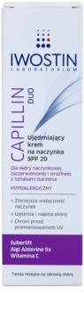 Iwostin Capillin Duo posilňujúci krém na popraskané žilky SPF 20