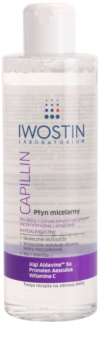 Iwostin Capillin čistiaca micelárna voda pre citlivú pleť so sklonom k začervenaniu