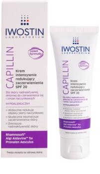 Iwostin Capillin creme intensivo para reduzir a vermelhidão da pele SPF 20