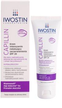 Iwostin Capillin intenzivní krém redukující zčervenání pleti SPF 20