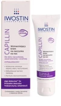 Iwostin Capillin Reinforcing Night Cream for Broken Capillaries