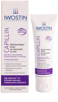 Iwostin Capillin stärkende Nachtcreme für geplatzte Äderchen