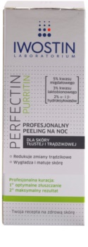 Iwostin Purritin Perfectin Professional Overnigh Exfoliator For Oily Acne - Prone Skin