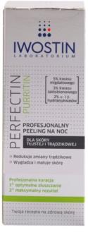 Iwostin Purritin Perfectin professionelles Peeling für die Nacht für fettige Haut mit Neigung zu Akne