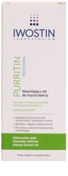 Iwostin Purritin Rehydrin hydratační mycí gel pro pleť vysušenou a podrážděnou léčbou akné