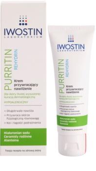 Iwostin Purritin Rehydrin hydratačný krém pre pleť vysušenú a podráždenú liečbou akné