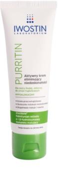 Iwostin Purritin crema de día activa  contra las imperfecciones de la piel