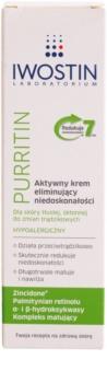 Iwostin Purritin crème de jour active anti-imperfections de la peau