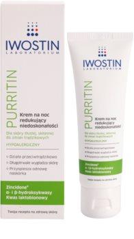 Iwostin Purritin nočna krema proti nepravilnostim na koži