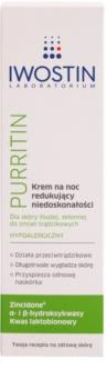 Iwostin Purritin Nachtcreme gegen die Unvollkommenheiten der Haut