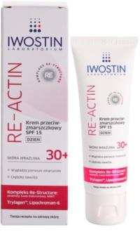 Iwostin Re-Actin creme de dia antirrugas SPF 15