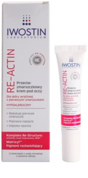 Iwostin Re-Actin protivráskový oční krém pro citlivou pleť