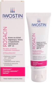 Iwostin Rosacin upokojujúci denný krém proti začervenaniu SPF 15