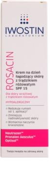 Iwostin Rosacin zklidňující denní krém proti zarudnutí SPF 15