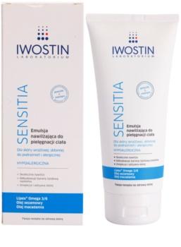 Iwostin Sensitia emulsão hidratante para pele sensível e irritada