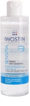 Iwostin Sensitia água micelar para limpeza suave para pele sensível e alérgica