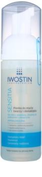 Iwostin Sensitia espuma desmaquilhante e de limpeza para pele sensível e alérgica