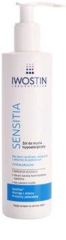 Iwostin Sensitia gel de banho hipoalergénico para pele sensível e irritada