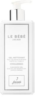 Jacadi Le Bébé gel de limpeza para rosto e corpo para pele de bebé