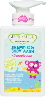 Jack N' Jill Sweetness Delicate Shower Gel and Shampoo for Children 2 in 1