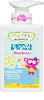 Jack N' Jill Sweetness jemný sprchový gél a šampón pre deti 2 v 1