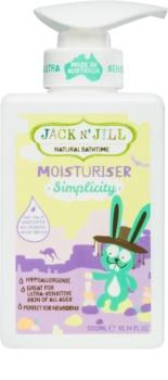 Jack N' Jill Simplicity lotiune de corp hranitoare pentru copii
