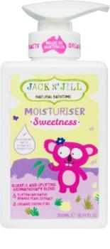 Jack N' Jill Sweetness hranilni losjon za telo za otroke
