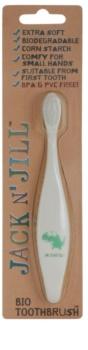 Jack N' Jill Dino Organic Tootbrush for Kids Extra Soft