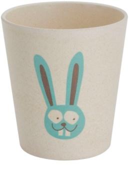 Jack N' Jill Bunny copo de bambu e casca de arroz