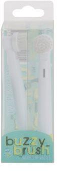 Jack N' Jill Buzzy Brush náhradní hlavice pro zubní kartáček soft