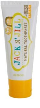 Jack N' Jill Natural természetes fogkrém gyermekeknek banán ízesítéssel