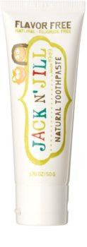 Jack N' Jill Natural Naturzahnpasta für Kinder ohne Geschmack