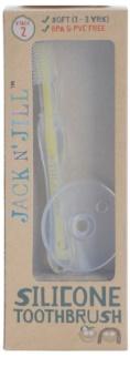Jack N' Jill Silicone zubní kartáček pro děti soft