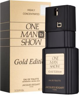Jacques Bogart One Man Show Gold Edition Eau de Toilette für Herren 100 ml