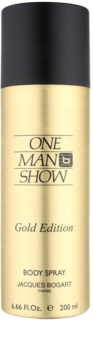 Jacques Bogart One Man Show Gold Edition spray pentru corp pentru barbati 200 ml
