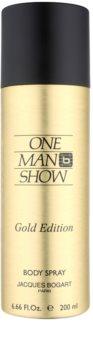Jacques Bogart One Man Show Gold Edition telový sprej pre mužov 200 ml