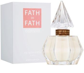 Jacques Fath Fath De Fath mleczko do ciała dla kobiet 100 ml