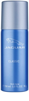 Jaguar Classic Blue Deo Spray voor Mannen 150 ml