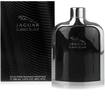 Jaguar Classic Black toaletní voda pro muže 100 ml