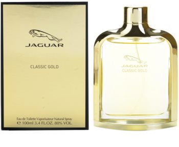 Jaguar Classic Gold Eau De Toilette For Men 100 Ml Notinofi