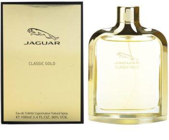 Jaguar Classic Gold eau de toilette pour homme 100 ml