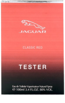 Jaguar Classic Red woda toaletowa tester dla mężczyzn 100 ml